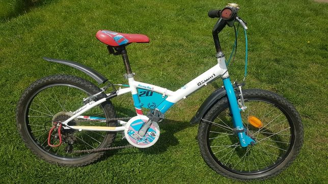 """B-Twin 20"""" Racing Boy rower dla chlopca"""