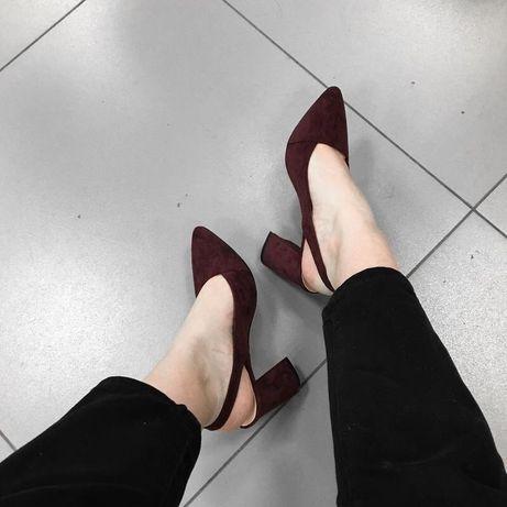 Новенькие стильные туфли no name