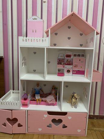 Кукольный домик Барби. Дом для кукол Barbie
