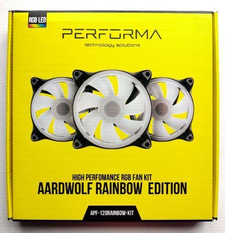 RGB Комплект вентиляторов Aardwolf Performa (APF-120RAINBOW-KIT)