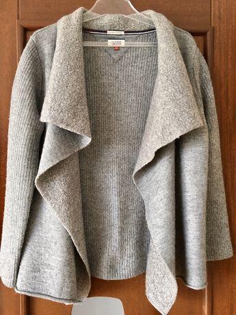 Ciepły sweter Tommy Hilfiger oversize M/L