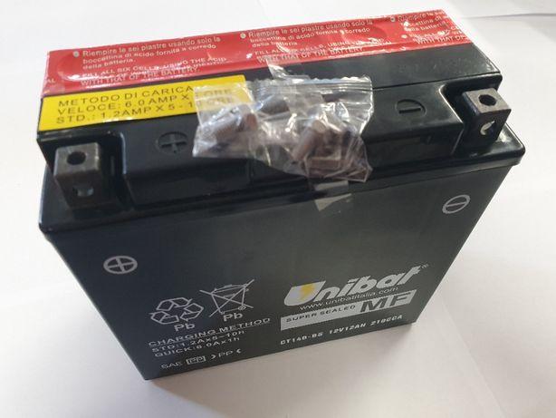 Akumulator Unibat AGM CT14B-BS YT14B-BS ET14B-BS 12Ah 210A 12V NOWY