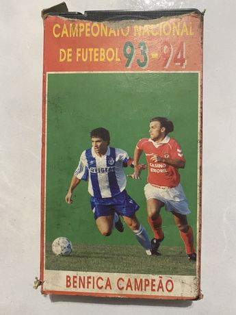 Filme VHS campeonato nacional 93-94
