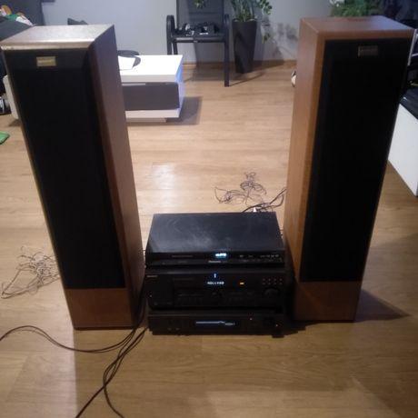 Amplituner Sony, DVD Panasonic, 2 x kolumny Quadral Platin X