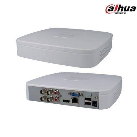 DVR/NVR Gravador Videovigilância 5 em 1 DAHUA 4 Canais 2mp