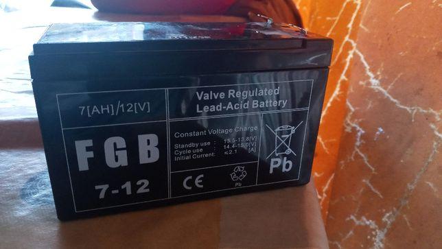 Akumulator AGM FGB | FGB 7-12 12V / 7Ah ! Nowka stoi tylko kurz zbiera