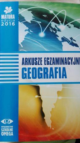 Arkusze egzaminacyjne geografia