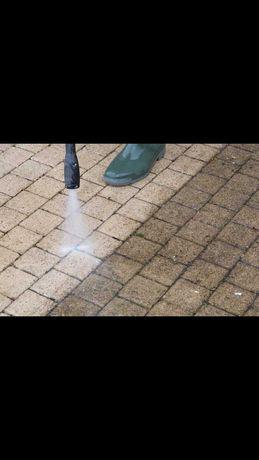 Lavagem de pavimentos exteriores