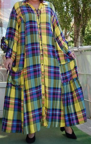 Платье,рубашка очень большого размера.