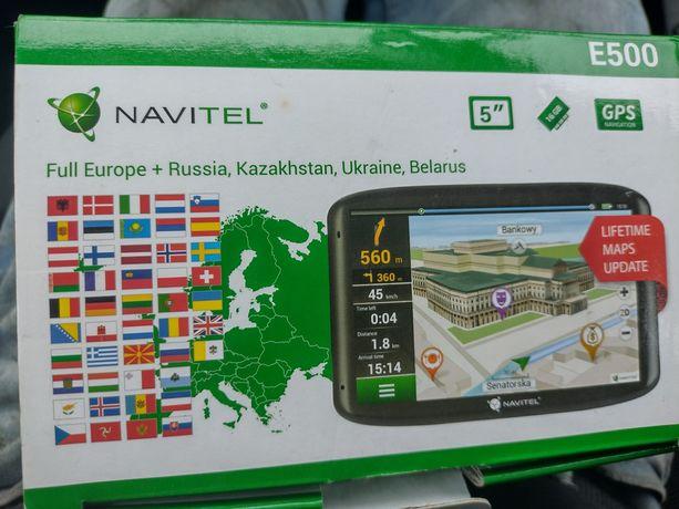 Nawigacja Navitel E500 16gb+karta 2gb