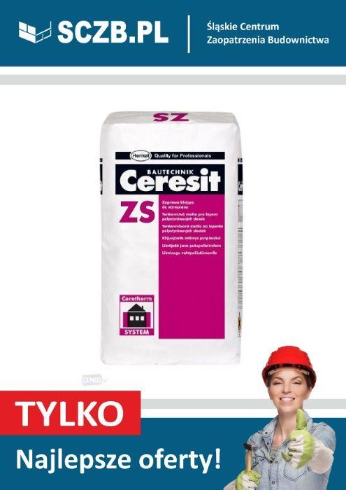 Klej do styropianu Ceresit ZS Klej do siatki Ceresit ZU 25kg Tarnowskie Góry - image 1