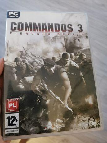 """Gra PC - Commandos 3 """"Kierunek Berlin"""" PL"""