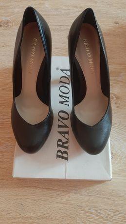 Туфли кожа bravo moda