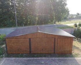 garaż blaszany garaz blaszak 8x6 6x6 4x6 5x5 oława Brzeg - image 1