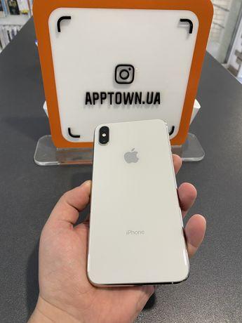 Iphone XS Max 256GB Silver Neverlock/Гарантия/Магазин/Рассрочка