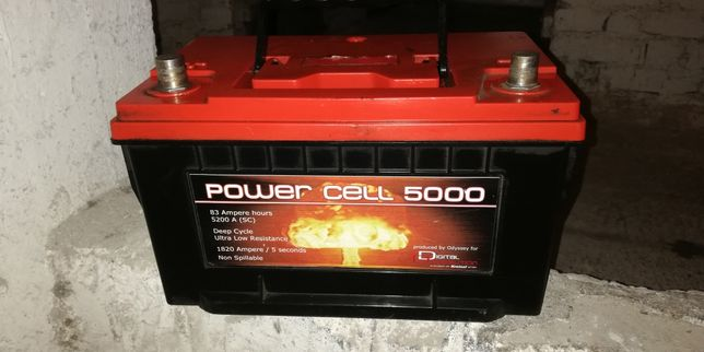 Akumulator żelowy power cell 5000