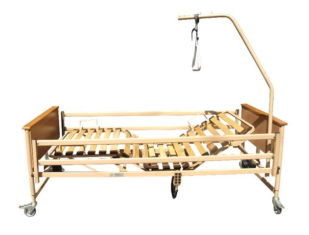Łóżko rehabilitacyjne ortopedyczne elektryczne WYSIĘGNIK + MATERAC