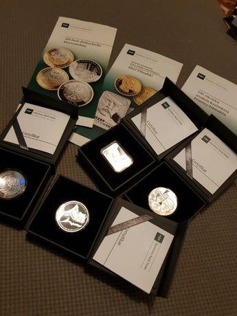 Srebrne monety 10-złotowe wydane w roku 2015