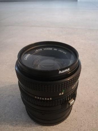 Obiekty Canon 50mm 1.8 FD - NEX