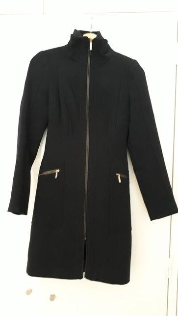 Casaco seleto Zara Azul escuro