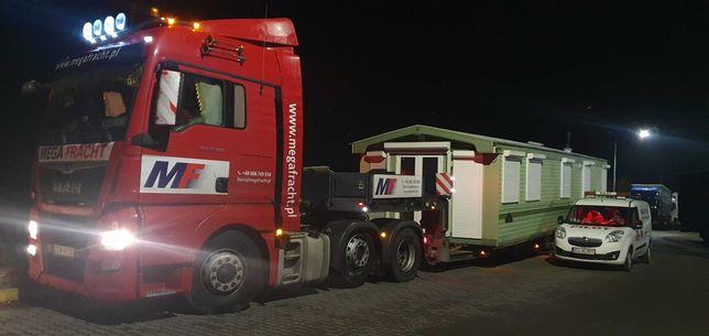 Transport domków holenderskich i modułowych