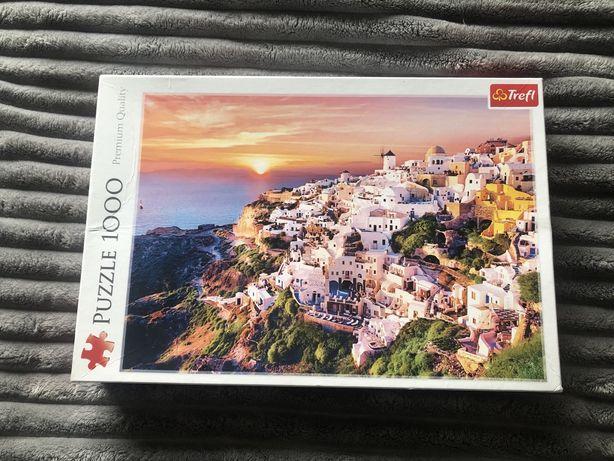 Puzzle 1000 elementów San Torini zamienię