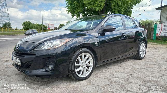 Mazda 3 1.6 benzyna, bardzo bogate wyposażenie!!! Grzana szyba, RVM!