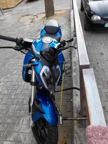 Keeway rkf 125 cc azul