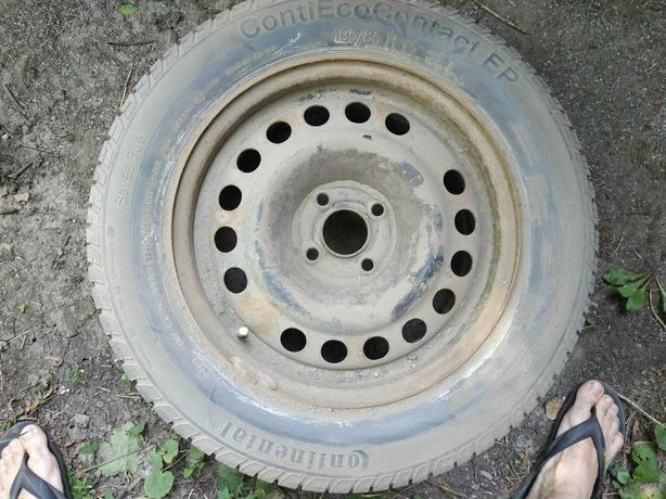 Запасное колесо Continental и ROSAVA