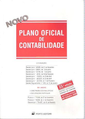 Plano Oficial de Contabilidade 23ª Edição