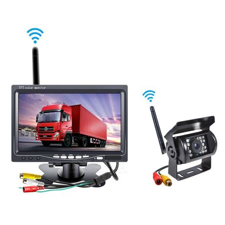 Camera wireless sem fio carro camião autocaravana camara caixa carga