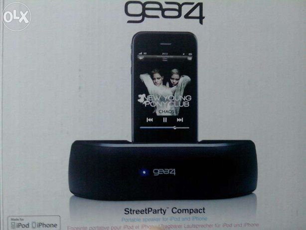 Gear 4 StreetParty para ipod/iphone