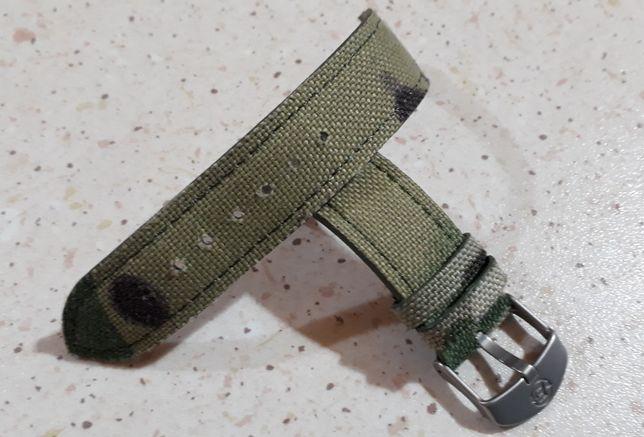 Pasek do zegarka Timex szer. 20 mm wzór moro + teleskopy quick pin