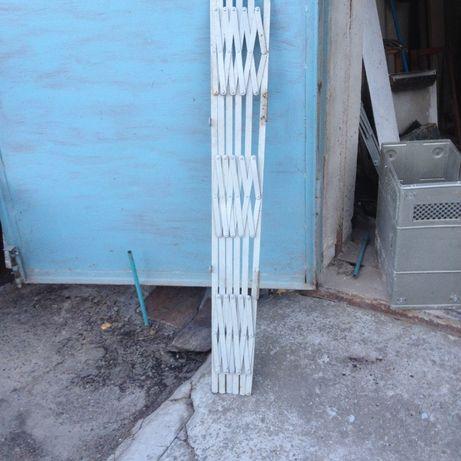 Раздвижные решетки-гармошки 130х100 мм