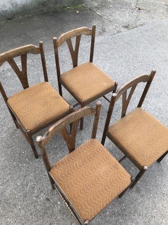 Krzesła Staromodne 4 sztuki