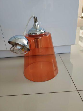 Lampa sufitowa szklany klosz