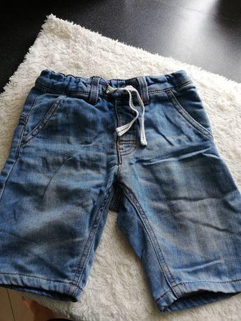 Spodenki jeansowe chłopięce