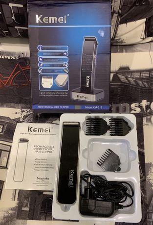Kemei KM-619 триммер машинка для стрижки волос и бороды, как новый