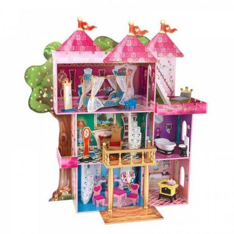 Domek dla lalek drewniany kinderkraft. Duży dla barbie lol