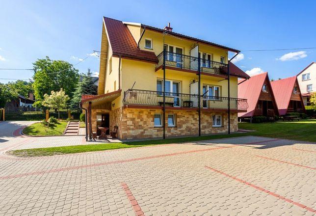 Domki pokoje noclegi w centrum Polańczyka nad Soliną Bieszczady