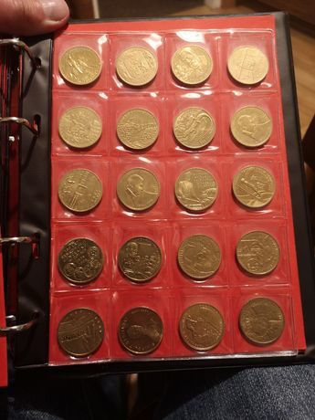 Zestaw monet monety kolekcja 2 zł GN zamiana