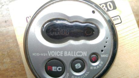 Gravador digital Sony