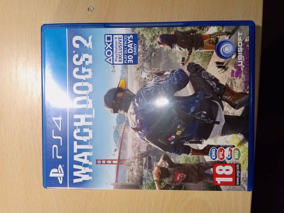 Ps4 Watch Dogs 2 Wolsztyn - image 1