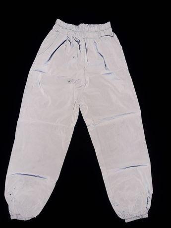 Рефлективные (светоотрожающие) штаны размер S.