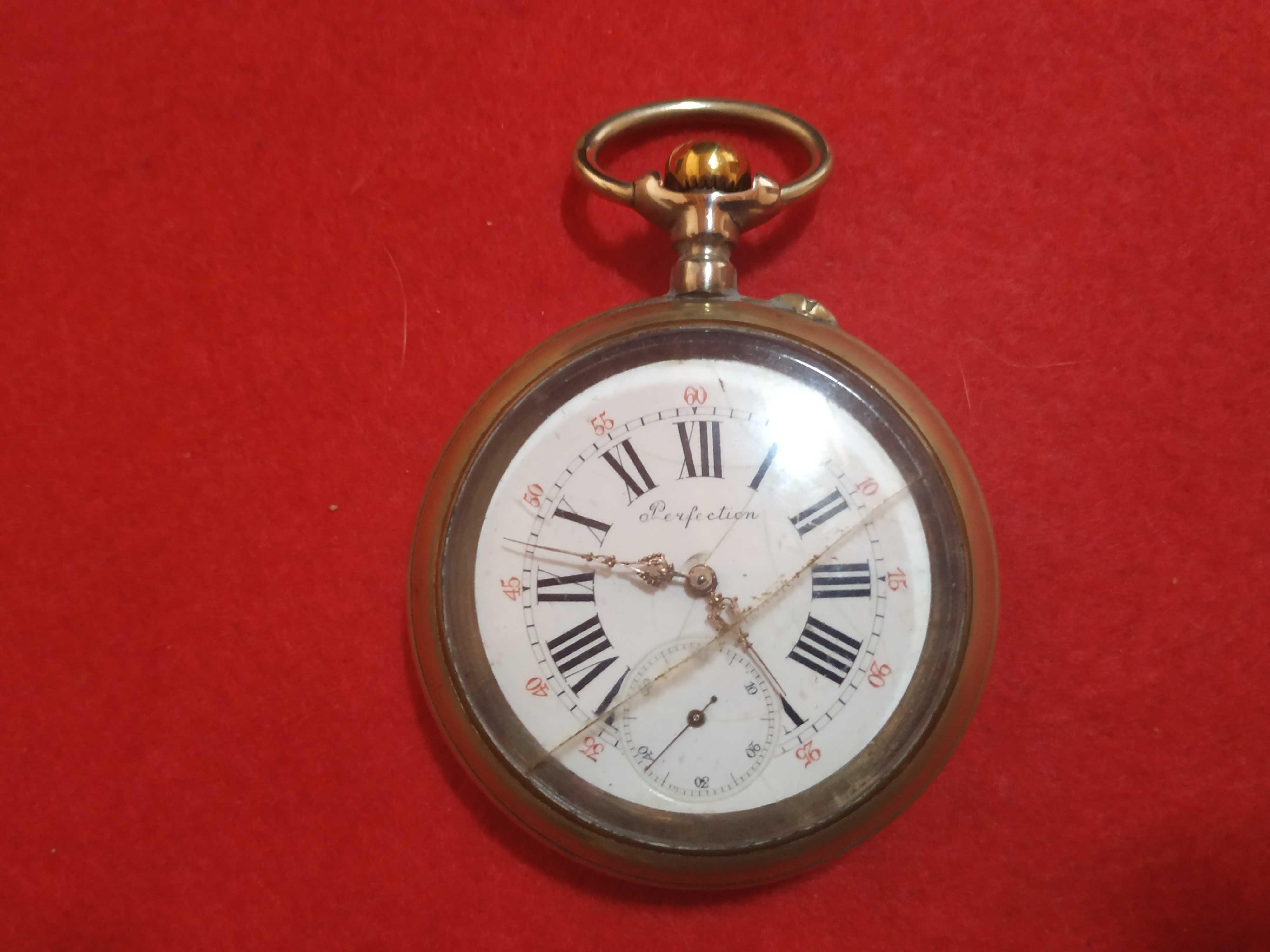 Relógio de Bolso Perfection Golias