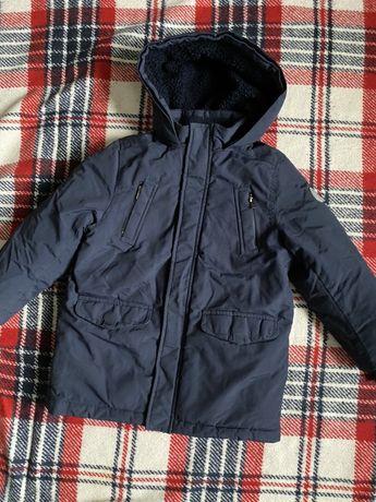 Зимняя куртка для мальчика 116 см
