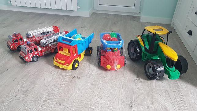 Zabawki dla chłopca: traktor, straż, wywrotka po 20zł