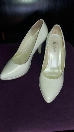 Buty ślubne ekri rozmiar 38