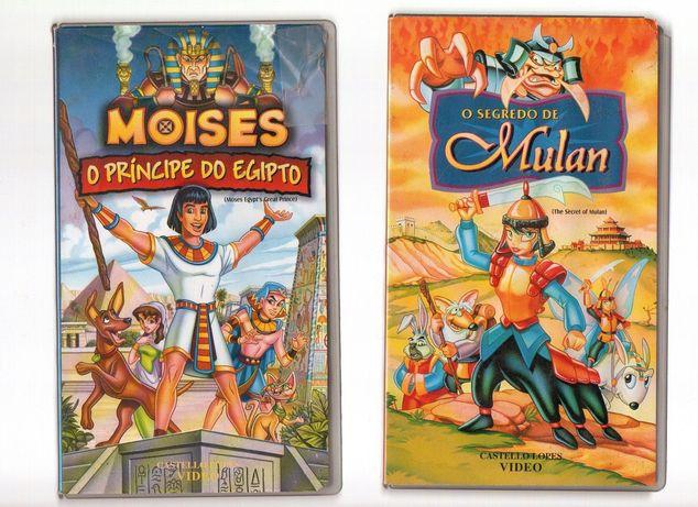 Colecção filmes vintage VHS Desenhos animados ORIGINAIS