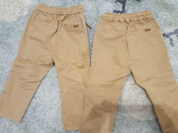 Bliźniaki Mango spodnie rozm.80